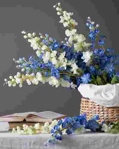 Delphinium Flower Stems by Balsam Hill Lifestyle 10