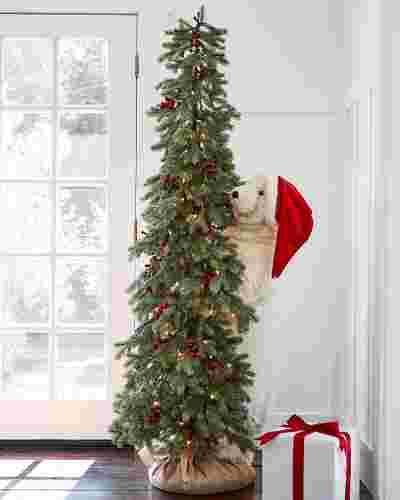 Hide and Seek Polar Bear Tree by Balsam Hill SSC 10