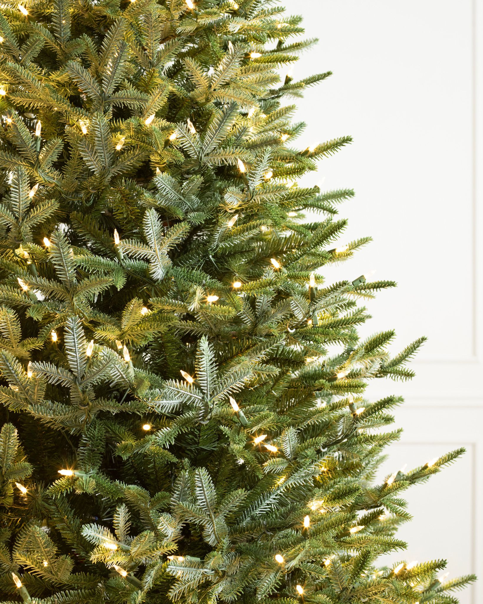 European Silver Fir Artificial Christmas Tree Balsam Hill