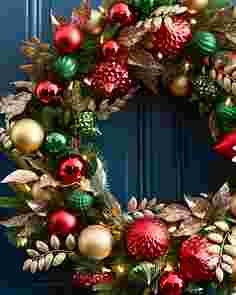 Deck the Halls Wreath by Balsam Hill SSCR