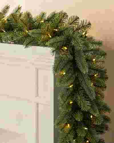 Vermont White Spruce Garland by Balsam Hill