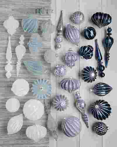 Midnight Frost Ornament Set by Balsam Hill
