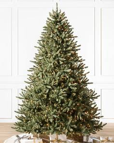 Pre Lit Artificial Christmas Trees With Clear Lights Balsam Hill
