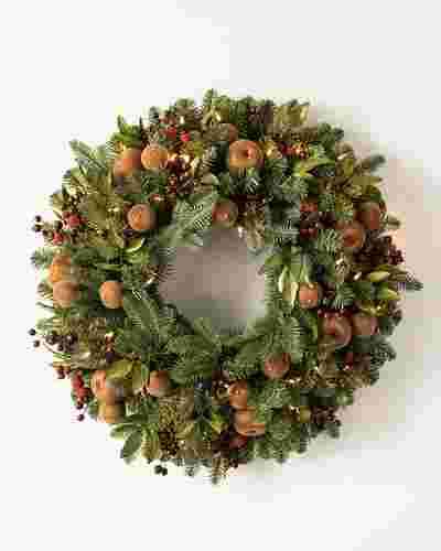 Orchard Harvest Wreath by Balsam Hill SSC 30
