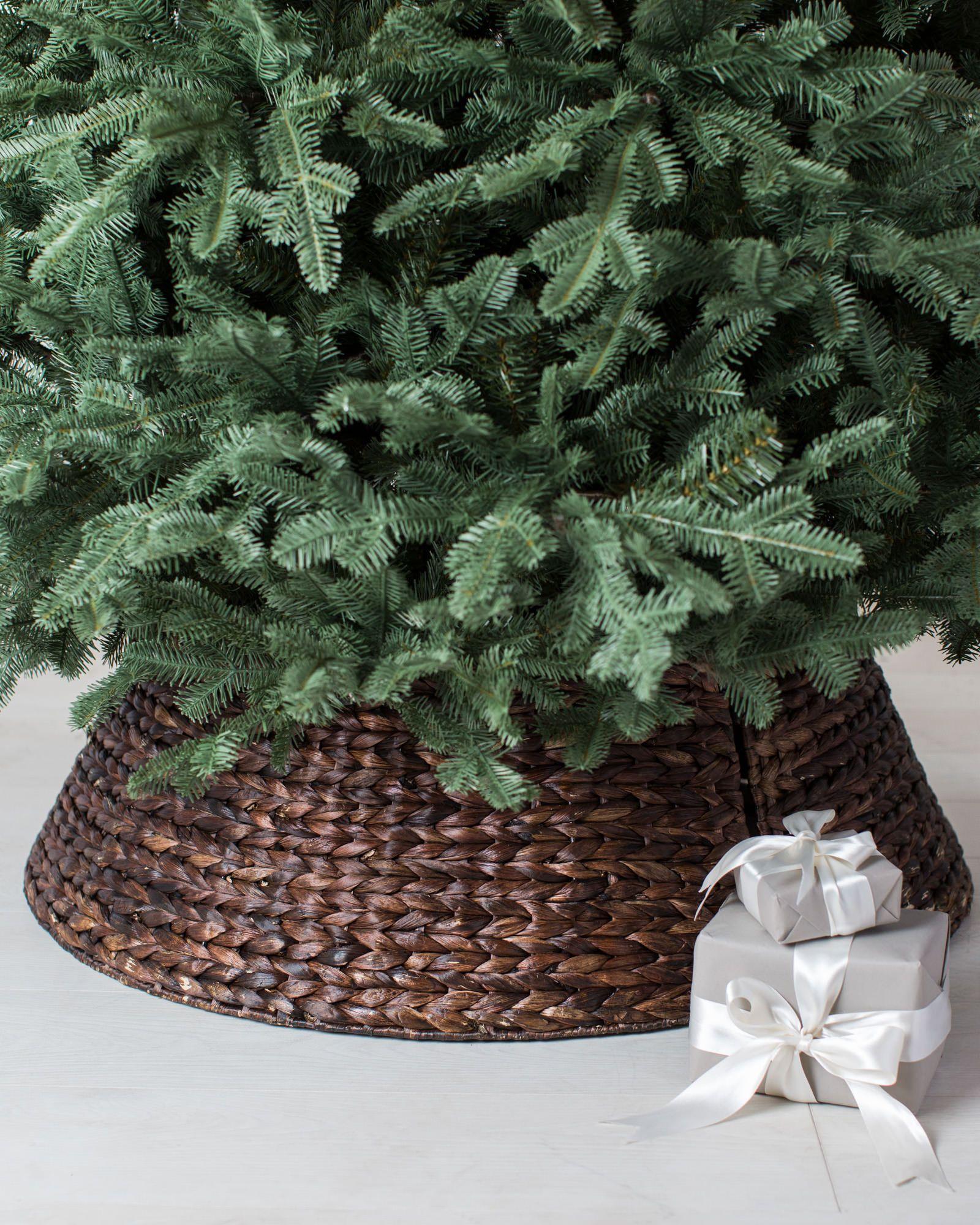 Woven Tree Collar | Balsam Hill