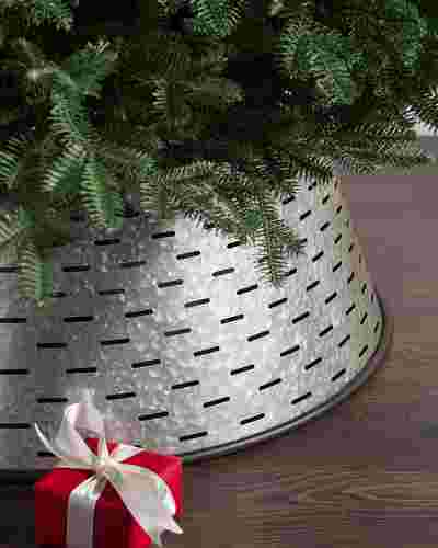Olive Bucket Tree Collar by Balsam Hill