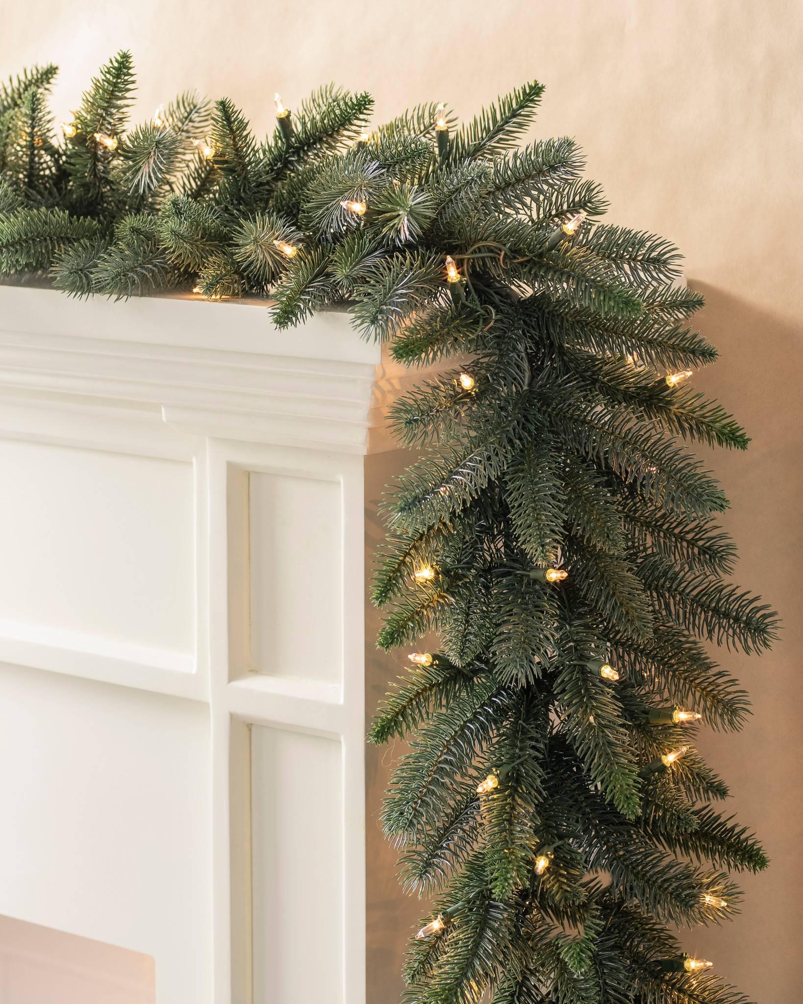 Aspen Estate Fir Christmas Wreaths and Garlands   Balsam Hill