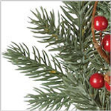 Heritage Spice Wreath by Balsam Hill Foliage
