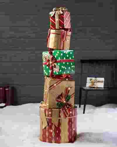 Full Size Fiber Optic Christmas Trees